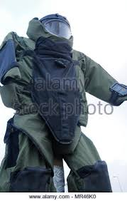 Suit Display Stands Extraordinary A Bomb Suit Stands As A Static Display For Camp Arifjan Stock Photo