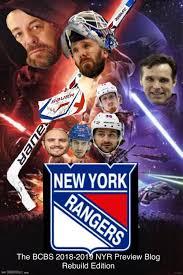 The New York Rangers 2018 2019 Season Preview Blog Taking