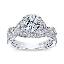 halo engagement rings halo rings gabriel co