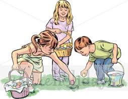 Image result for egg hunt clipart