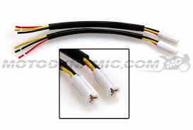 yamaha turn signal connector harness r1 r6 fz6 fz6r fz1 fz8 oe style Residential Electrical Wiring Diagrams yamaha 2 or 3 wire front or rear turn signal wire harness w connectors pair