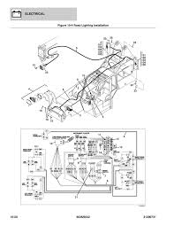 Road lighting installation diagram with instrument cluster to hazard switch and turn signal road light switch or brake switch