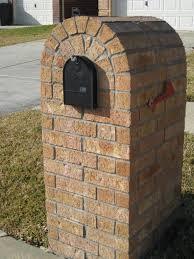 brick mailbox flag. Brick Mailbox Home Flag R