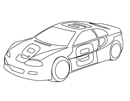 Stupefying Sport Cars Coloring Pages Ferrari Sport Car High Speed ...