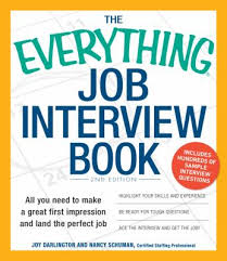 Job Interview Books The Everything Job Interview Book All You Need To Make A Great
