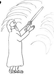 Moses Coloring Pages Red Sea Crossing Coloring Bible Story Coloring