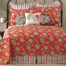Jacobean Red Quilt Bedding &  Adamdwight.com