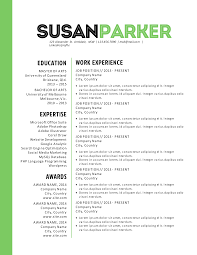 Modern Resume Templates Green Bold Green Modern Resume Template By Inkpower On Creative Market