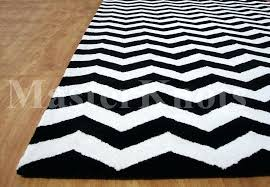 black and white rug brand new modern chevron black handmade woolen area rug photo details from black and white rug