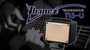 Комбик <b>гитарный IBANEZ</b> T15-U - YouTube