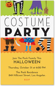 Costume Party Invite Invitation Evite