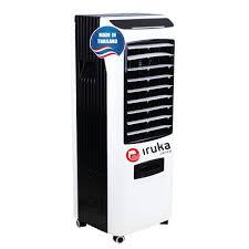 Quạt hơi nước làm lạnh không khí Iruka I99 Made In Thái Lan   Công suất  200W   Màn hình cảm ứng có remote điều khiển - Quạt Đứng
