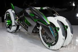 kawasaki j concept three wheeled motorcycle cycle world