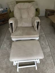 kub nursing chair rocking and gliding chair with stool