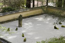 in the u s large scale examples of a zen garden may be seen in portland oregon as well as san fransisco