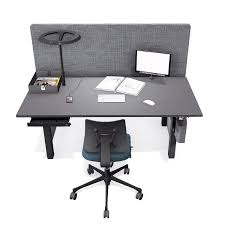 Q40 Benching System; Q40 Electric Height Adjustable Desk ...