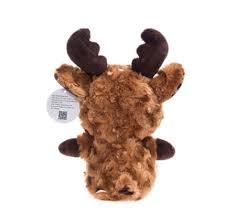 super cute plush toy big eyes milu deer with velvet antler bright color stuffed animals for