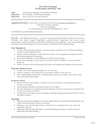 Store Manager Resume Retail Manager Resume Examples For Store Sample Cover Letter 9