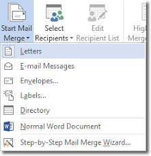 Word Mail Merge Mail Merge In Word 2016 Word 2016 Tutorials