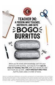 Teacher Apprecation Day BOGO ...
