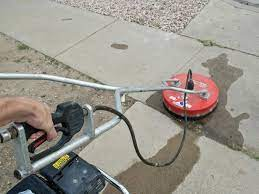 how to clean brick and concrete with a