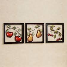 >kitchen fresh looking fruits metal for kitchen wall art with apple  fresh looking fruits metal for kitchen wall art with apple pear cherry