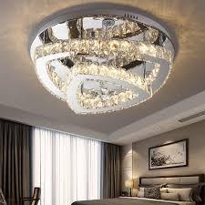 Design Kreative Moderne 48w Deckenlampe Kristall Led Led Für