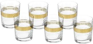"<b>Набор стаканов</b> для виски <b>Гусь</b>-Хрустальный ""Винтаж"", EAV25 ..."