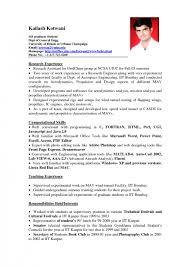 Mba Student Resume Samples No Experience Gentileforda Com