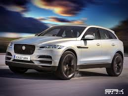 2016 Jaguar F-Pace Front Three Quarter IAB Rendering  G
