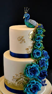 Peacock Theme Yummy Cake