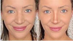 Best Hairstyle For Large Nose How To Contour A Big Nose Stephanie Lange Youtube