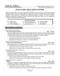 Healthcare Professional Resume Sample Healthcare Sales Resume Examples Professional Resume