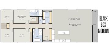 home house plans new zealand basic rectangular black box modern rectangle houseplans plan modern full