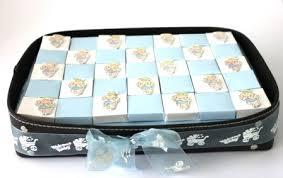 Baby Tray Decoration Thank you gift ideasHandmade Chocolates IndiaChic Boy leather 55