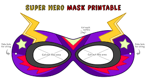 Decorate Your Own Superhero Mask Make your own super awesome superhero mask Explore Awesome 2