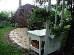 building a potting shed using old doors potting bench bragging rights garden junk forum gardenweb