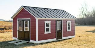 metal roof on a shed learn about 5 types and which is best for you