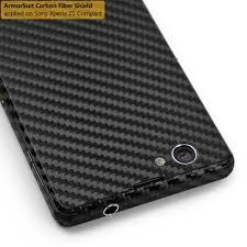 sony xperia z1 compact. sony xperia z1 compact screen protector + black carbon fiber film