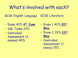 gcse english language and literature what s involved each  2 what s