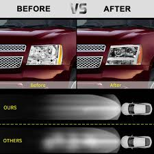07 Tahoe Daytime Running Light Bulb 15 Off Pair Led Drl Projector Headlight Lamp For 07 14