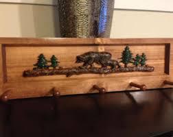 decorative coat rack. Beautiful Decorative Bear Log And Tree Decorative Coat Rack Cabin Decor Mountain Lake Decor Throughout Rack W