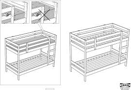 Download IKEA MYDAL BUNK BED FRAME TWIN Assembly Instruction for