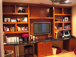 built in home office cabinets. Built In Home Office Cabinets With Shaker Doors And Is A Popular Pinterest Kitchen.