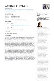 Medical Director Resume Samples Visualcv Resume Samples Database