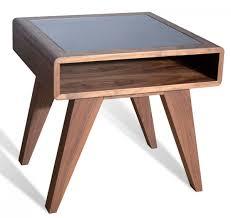 nova domus soria modern walnut end table  end tables  living room