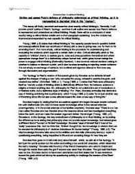 plato socrates apology essay knowledge essay writing sparknotes the apology summary