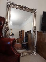 huge xl oversized large ont mirror
