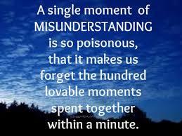 Misunderstanding Quotes Magnificent Misunderstanding Quotes Boopathy Sreedharan