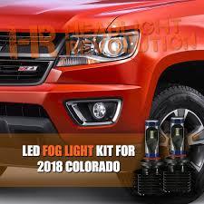 2017 Chevy Colorado Fog Lights 2015 2018 Chevy Colorado Led Fog Light Conversion Kit